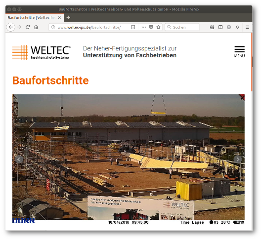 Screenshot weltec-ips.de